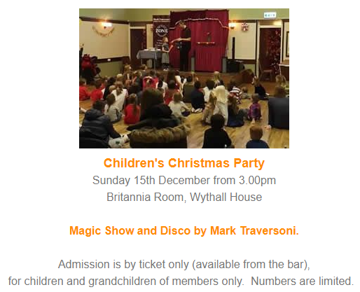 Children's Christmas Party 2019