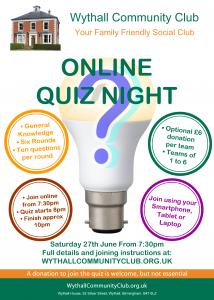 WCC Online Quiz